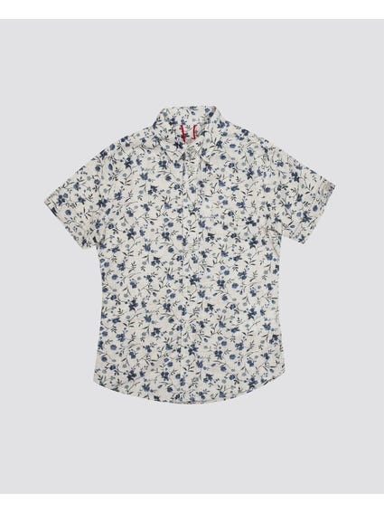Allover Floral Kids Shirt