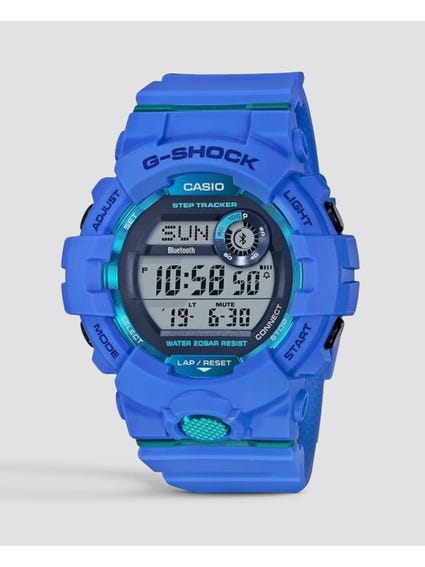 Blue Resin Digital Watch