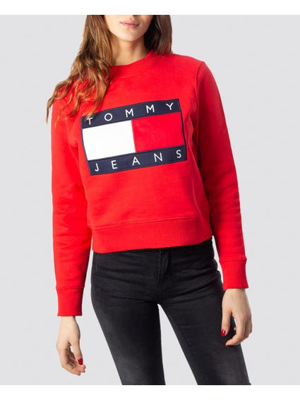 Red Big Logo Sweatshirt