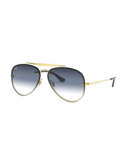 Yellow Blaze Aviator Sunglasses