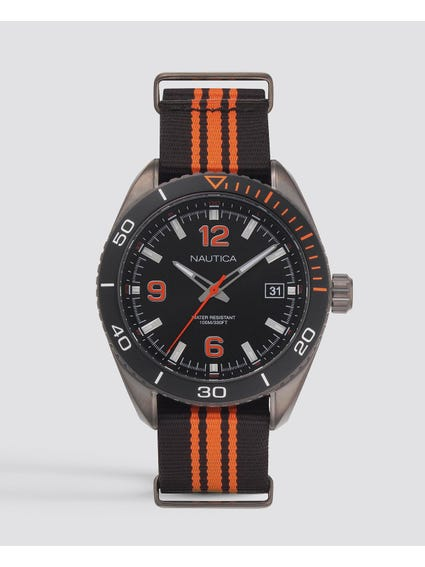 Key Biscayne 3-Hand Sport Watch