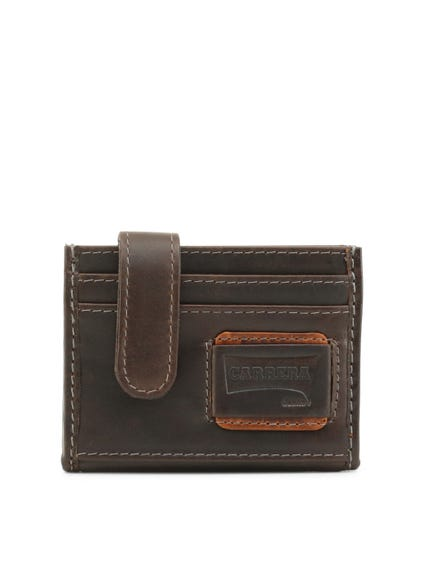 Brown Leather Credit Cardholder