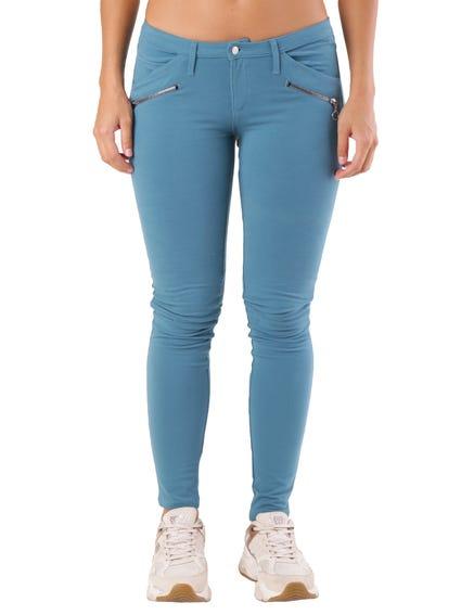 Button Pocket Zip Trouser