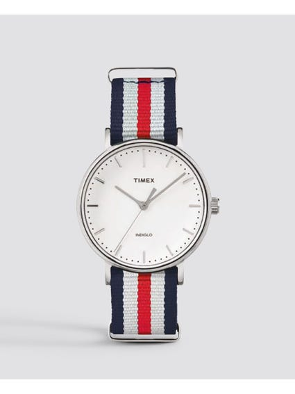 Weekender Fairfield White Analog Watch