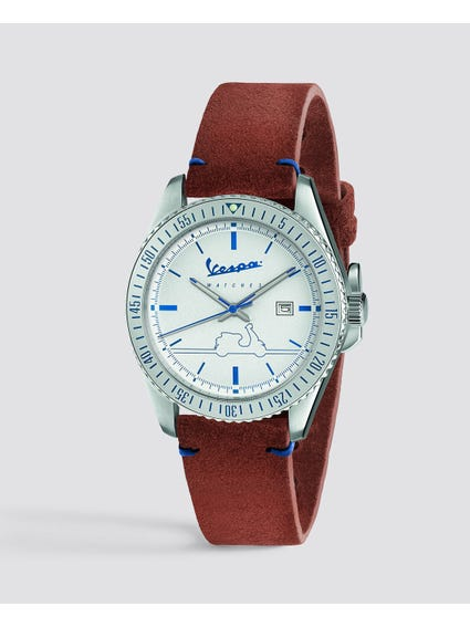 Brown Urban Analog Leather Watch