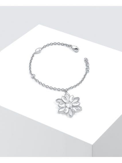 Silver Fioremio Floral Bracelet