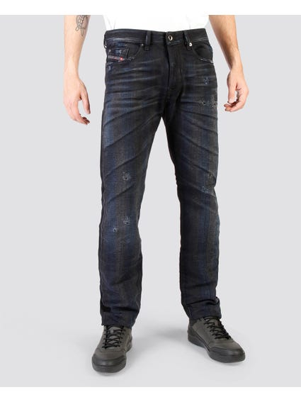 Buster Denim Washed Regular Fit Jeans