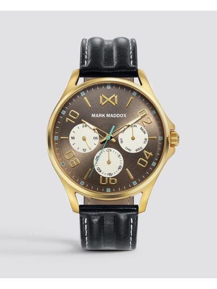 Bronze Dial Quartz Watch