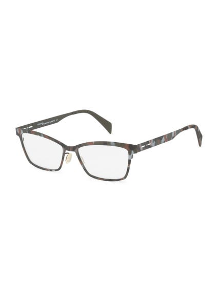 Brown Metal Frame Bikers Eyeglass
