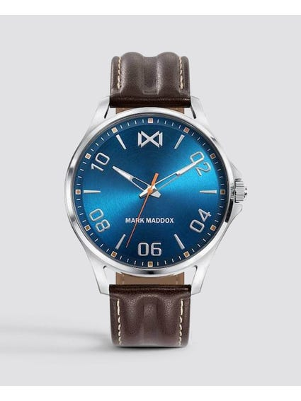 Blue Dial Quartz Watch