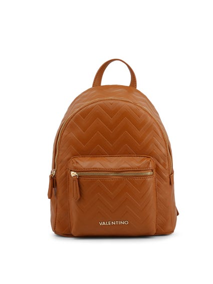 Brown Fauno Zip Backpack