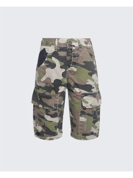 Camouflage Print Kids Short