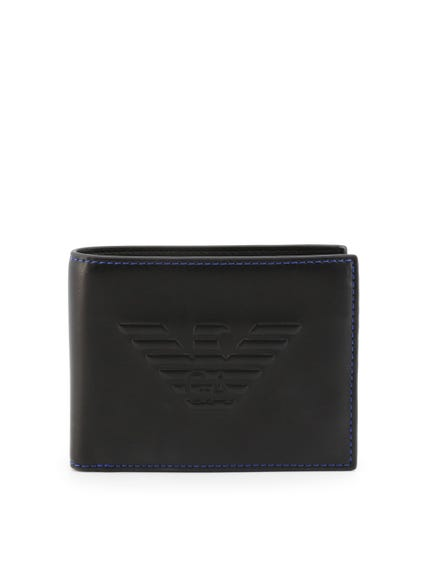 Mat Leather Bi Fold Wallet