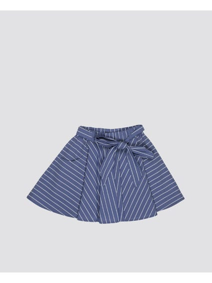 Bow Belt Kids Skirt