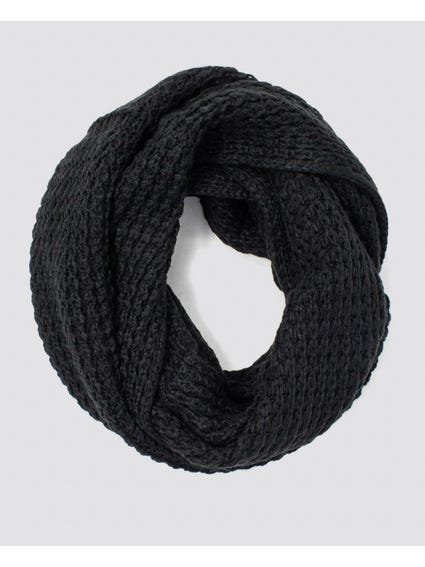 Black Knitted Scarves