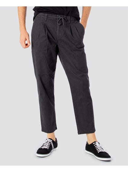 Grey Leo Washed Trouser