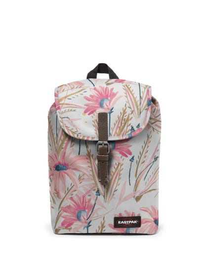 White Floral Casyl Backpack