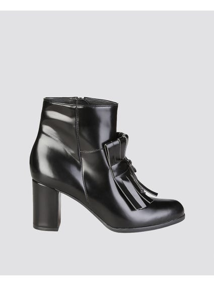 Jeannine Fringes Ankle Boots