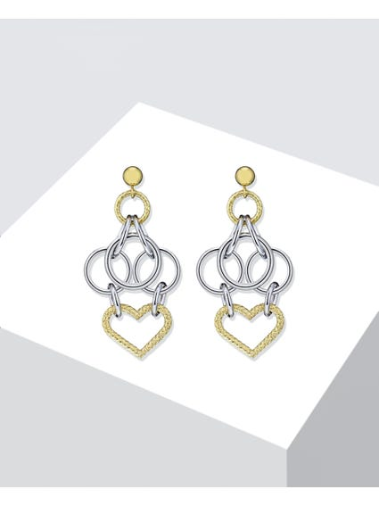 Silver Essenza Earrings
