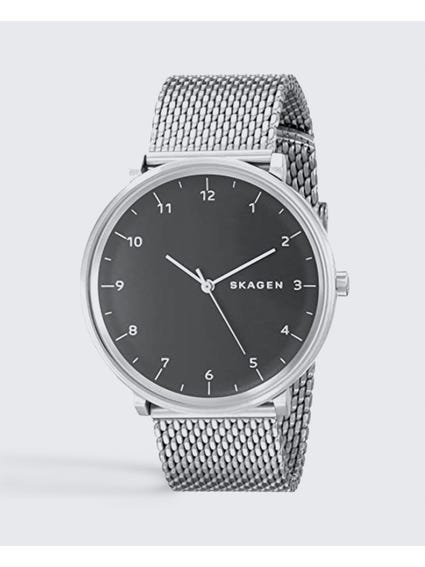 Silver Hald Stainless Steel Watch