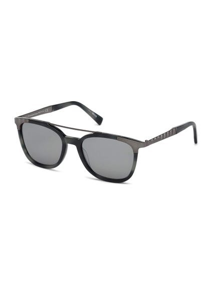 Black and Grey Top Bar Sunglasses