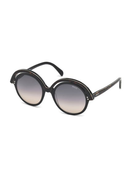 Black Overlayed Sunglasses