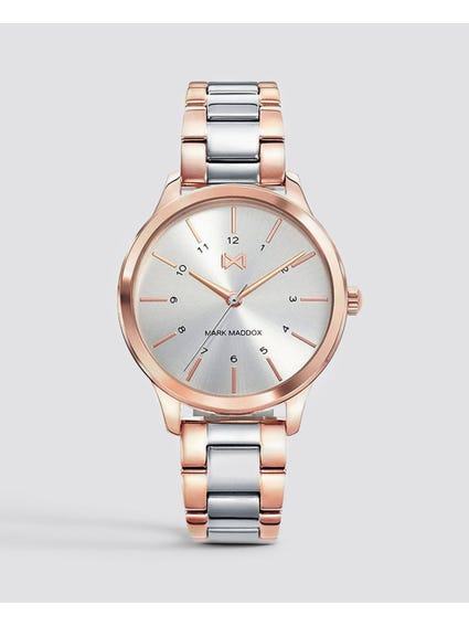 Two Tone Stainless Steel Watch