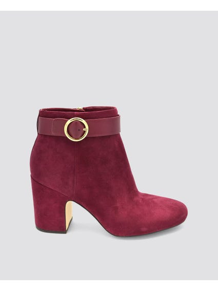 Pin Buckle Boots
