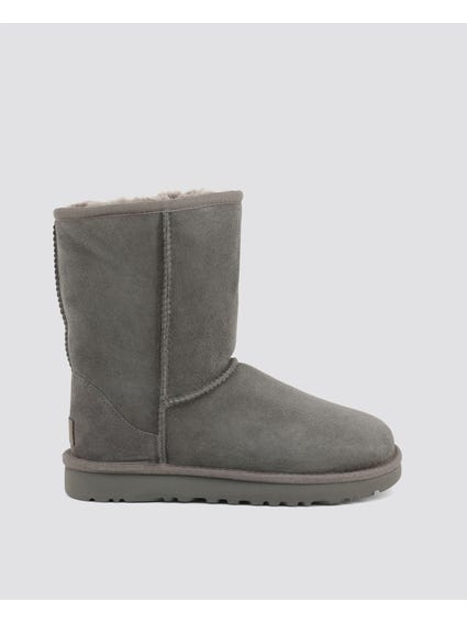 Grey Classic Short II Ankle Boots