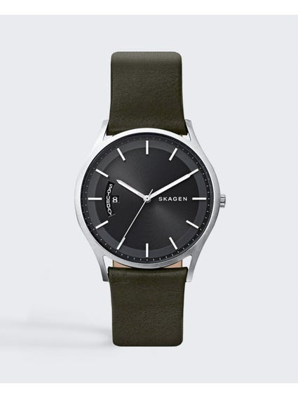 Olive Holst Leather Watch
