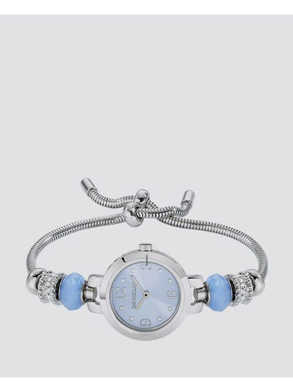 Blue Dial Analog Bracelet Watch