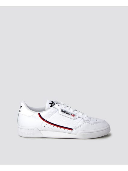 White Continental Sneakers