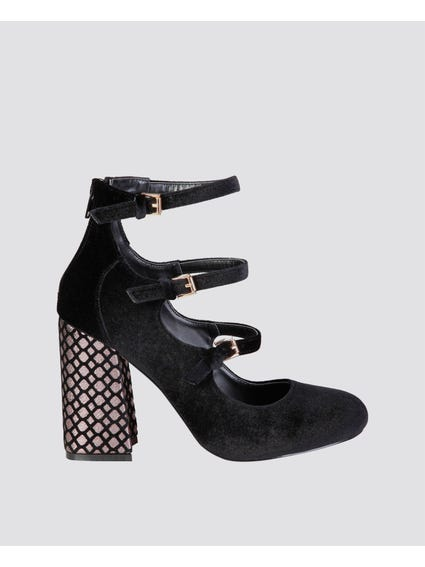 Black Giulia Pumps