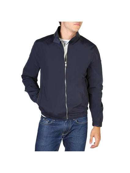 Mandarin Collar Full Zip Jacket