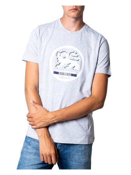 Grey Short Sleeve Graphic T-shirt