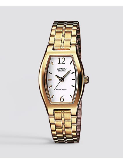 Gold Stainless Steel Watch