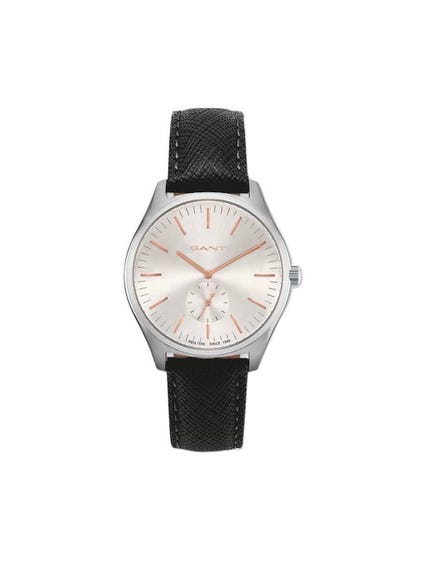 Calf Leather Analog Watch