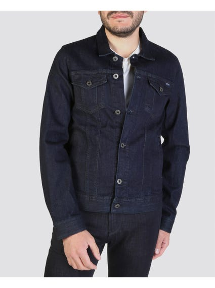Blue Button Denim Jacket