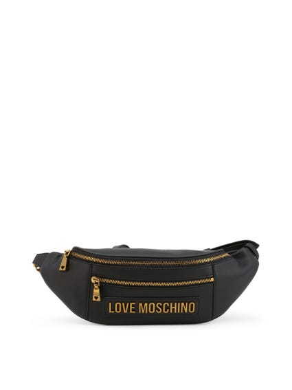 Embosses Love Zip Belt Bag
