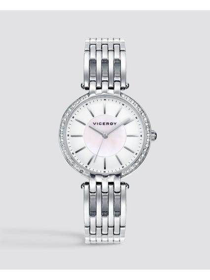 Silver Femme Stainless Steel Watch