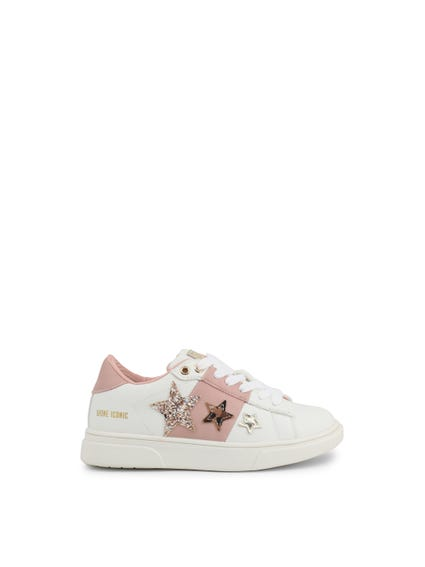 Sequin Star Kids Sneakers