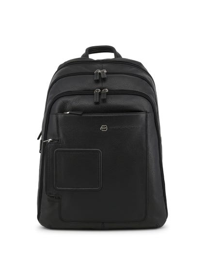 Leather Zipper Backpack Bag