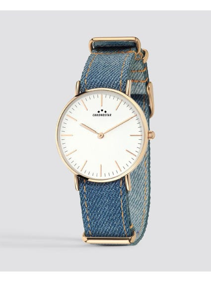 Reppy Jeans White Dial Analog Watch