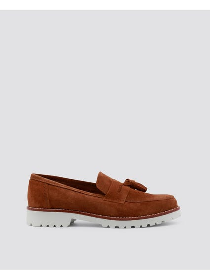 Brown Brividi Loafer