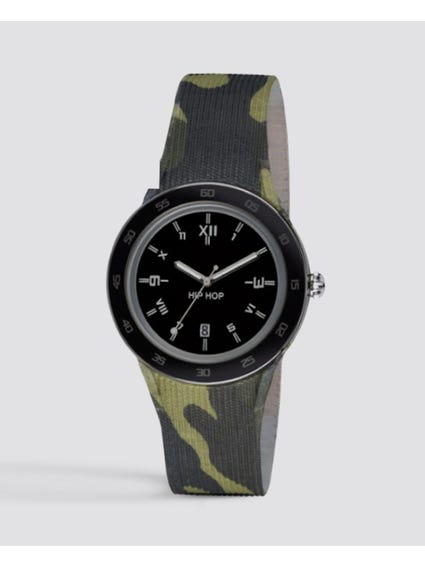 Camouflage Analog Quarts Watch