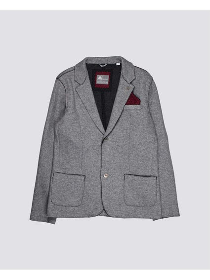 Grey Formal Kids Blazer