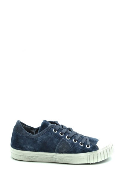 Wash Denim Lace Up Sneakers