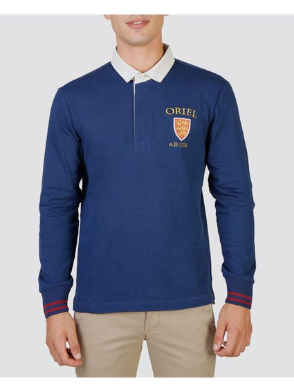 Oriel Long Sleeves Polo Shirt