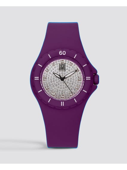 Silicon Strap Quartz Watch