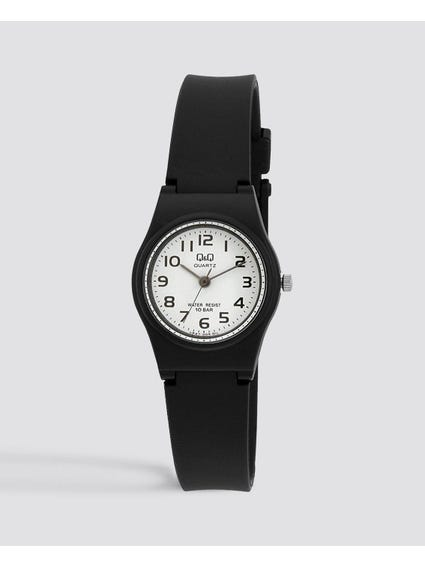 White Dial Quartz Analog Wrist Watch